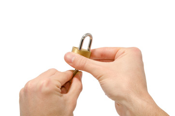 aprire una serratura
