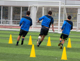 Soccer training