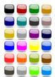 Set 24 web buttons blank