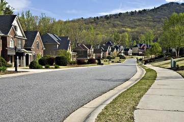 Peaceful Modern Neighborhood