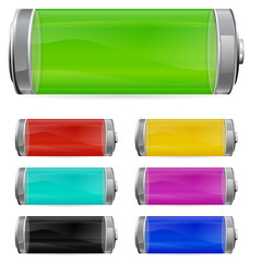 color battery set