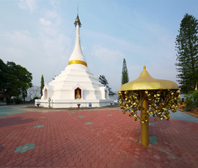 Wat Phra That Doi Kong Mu temple in Mae Hong Son, Thailand