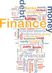 Finance money concept diagram