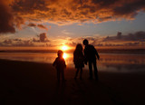 Children Sunset