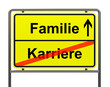Familie-Karriere