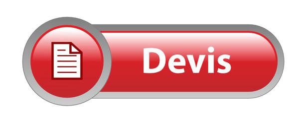 """Bouton Web """"DEVIS"""" (en ligne prix gratuit service clients vente)"""