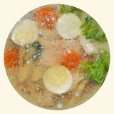 Fish or in aspic