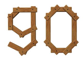 wooden ninety