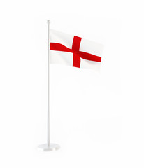 3D flag of England