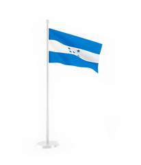3D flag of Honduras