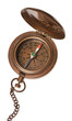 Antique Compass Isolated