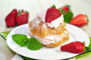 Dessert,Windbeutel