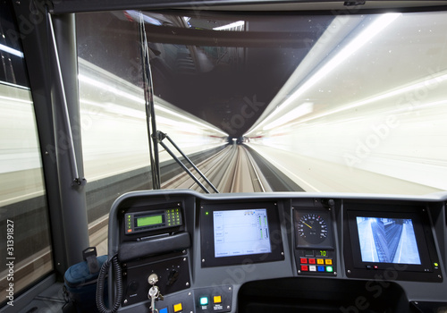 Subway cockpit