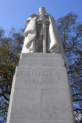 George V Statue in Westminster