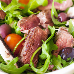 Beef and Arugula Sald