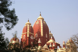 India, Delhi, magnificent religious Hinduism temple complex