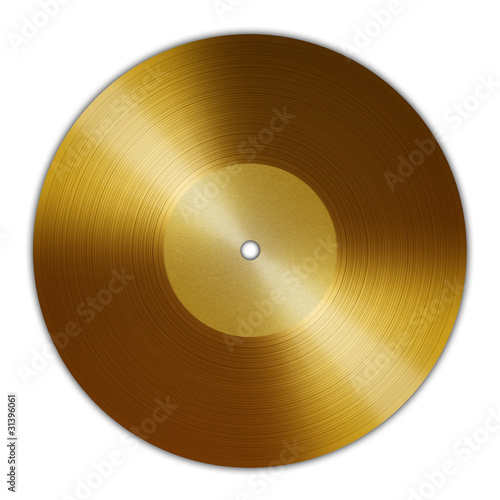 Golden-Vinyl-Record