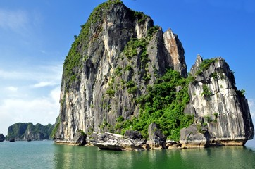 Limestone Mountain, Halong Bay