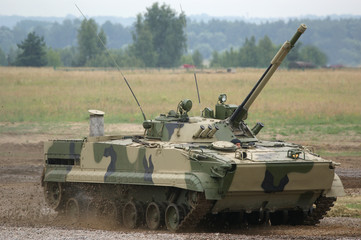 The main Russian tank T-90
