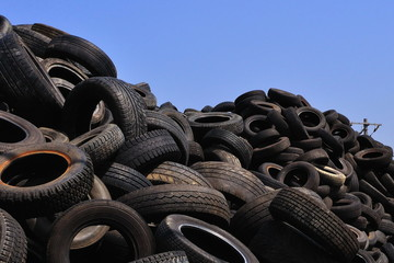 heap of tires