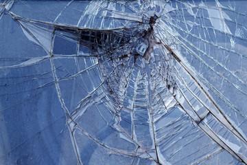 Glass  broken   car   wheel