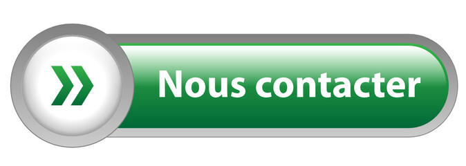 Bouton Web NOUS CONTACTER (contact service clients support vert)