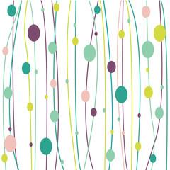 Easter background, vector illustration