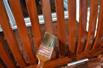 Balkonmöbel einölen 1
