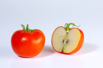 Apfel-Tomate