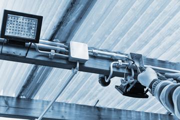 Elektroinstallation Außenbeleuchtung