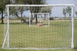 Goals in an outdoor leisure park