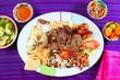 Arrachera beef flank steak Mexican dish chili