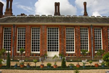 Hampton Court palace and garden, London