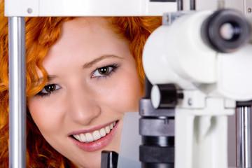 at optician