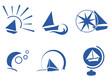 boat simple icons