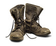 Leinwandbild Motiv Old boots