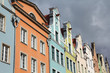 Gdansk - colorful buildings of the Old Town