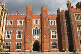 Hampton Court palace and garden, London