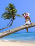 woman on the beach - Fine Art prints