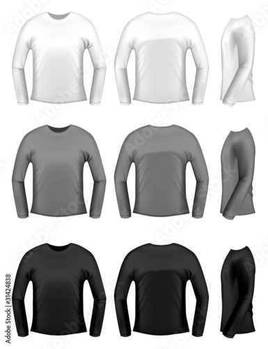 Men's t-shits with long sleeves