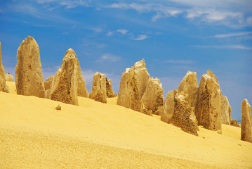Beauty Of Pinnacles Desert
