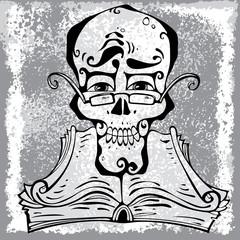 Clever skull.