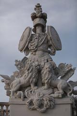 Schönbrunn Schloss,statue, Autriche