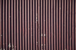 Weathered brown corrugated iron background