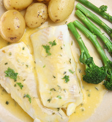 Baked Haddock Fish with Vegetables
