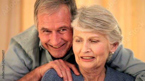 Mature couple enjoying each others company
