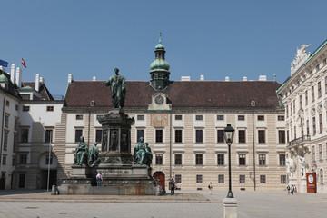 Heldenplatz, Vienne, autriche