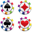 rainbow casino chips