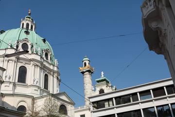 Dôme de l'église Saint-Charles