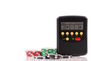 Hand Held Casino Slots Game (Custom Space)